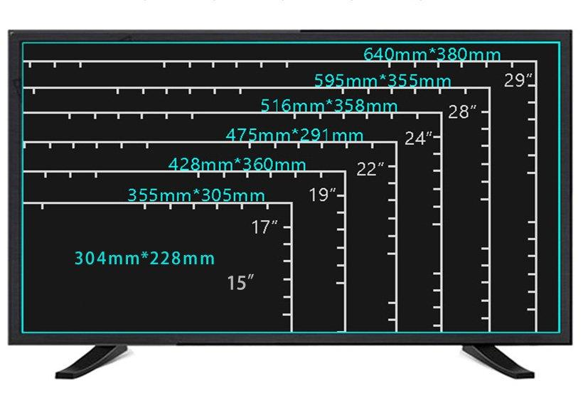 Xinyao LCD Brand tube double speaker 22 hd tv lcd
