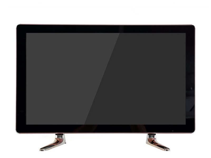 latest double glass design 22 inch led tv with high quality tube speaker-4