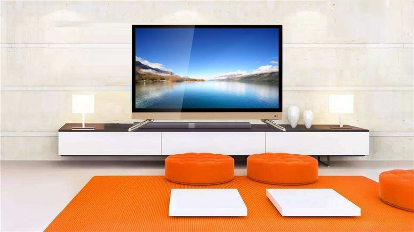 Super slim wide screen perfect panel 32 inch led tv television 4k android smart tv WITH HIFI SPEAKER-7