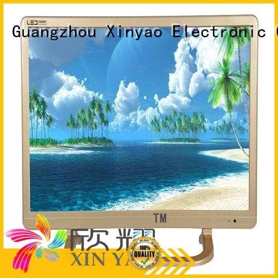 double glasses 22 hd led tv with v56 motherboard for lcd tv screen Xinyao LCD