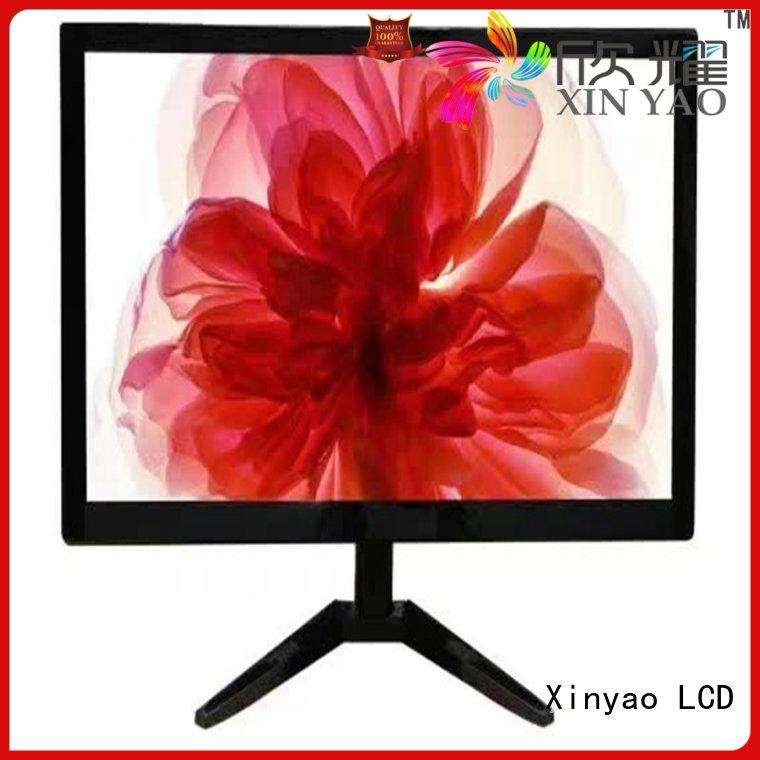 Xinyao LCD 17 inch widescreen monitor factory price for tv screen