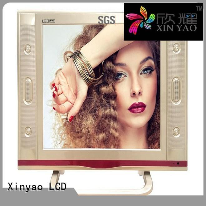 Xinyao LCD Brand screen 120hz 17 inch flat screen tv lcd factory