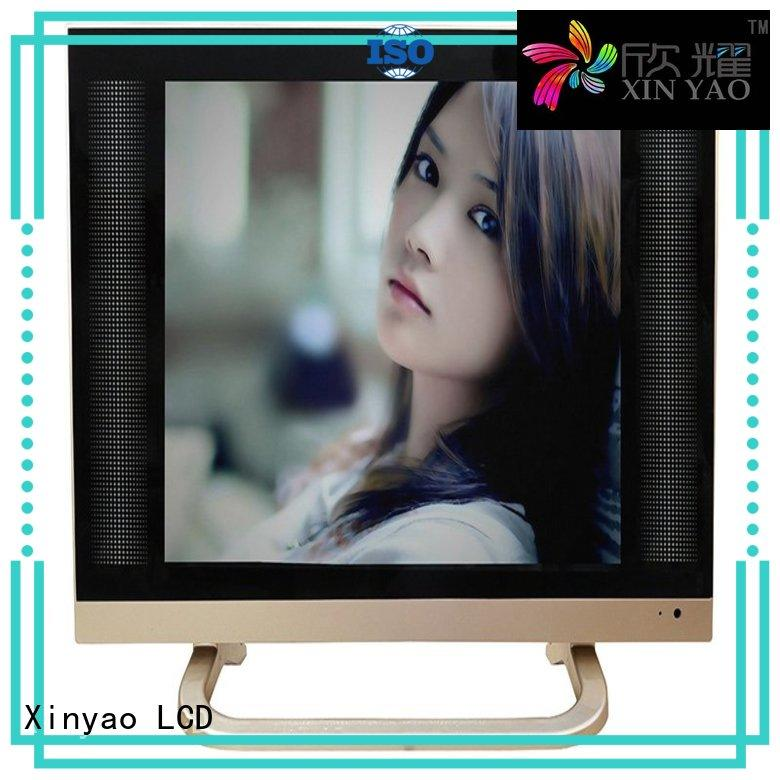 1080p hd sat 17 inch flat screen tv style Xinyao LCD