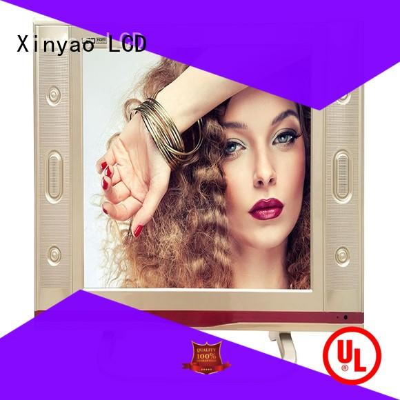Xinyao LCD at discount 17 inch flat screen tv fashion design for tv screen