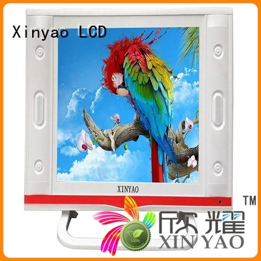 Xinyao LCD 19 inch tv for sale with built-in hifi for lcd screen