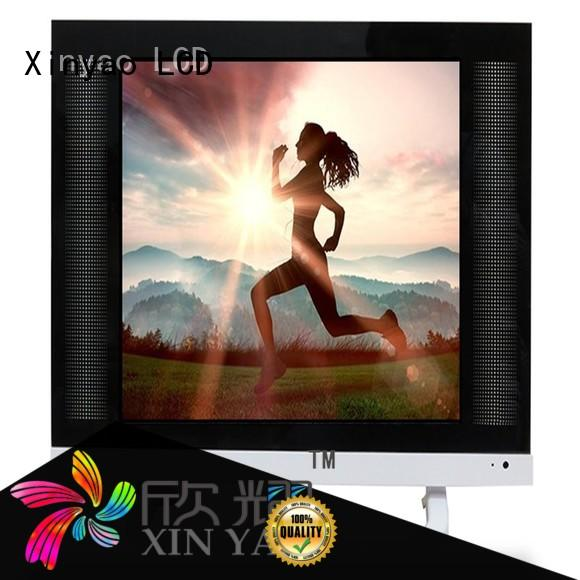 Xinyao LCD oem lcd tv 19 inch price with built-in hifi for tv screen