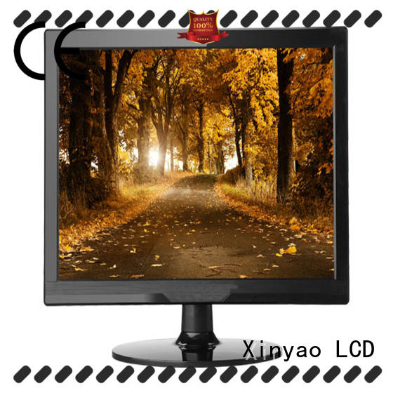 Xinyao LCD a grade 15 inch computer monitor with speaker for lcd tv screen