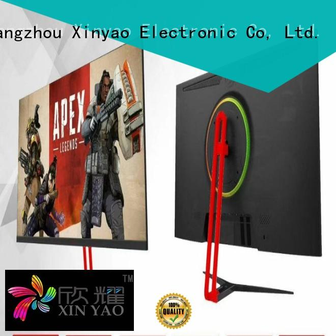 Xinyao LCD factory direct gaming moniters bulk supply new design