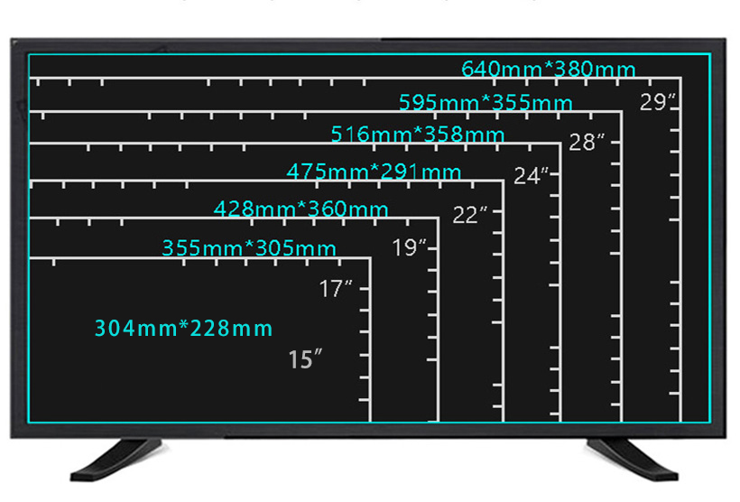 12v ac dc star x led tv 15 17 19 20 21.5 22 23 24 32 inch-8
