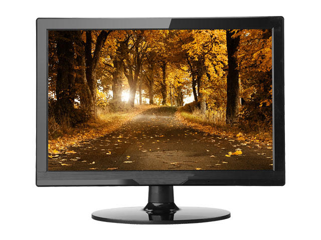 2018 brand new arrived 15.6inch led monitor with HDMI VGA output with speaker