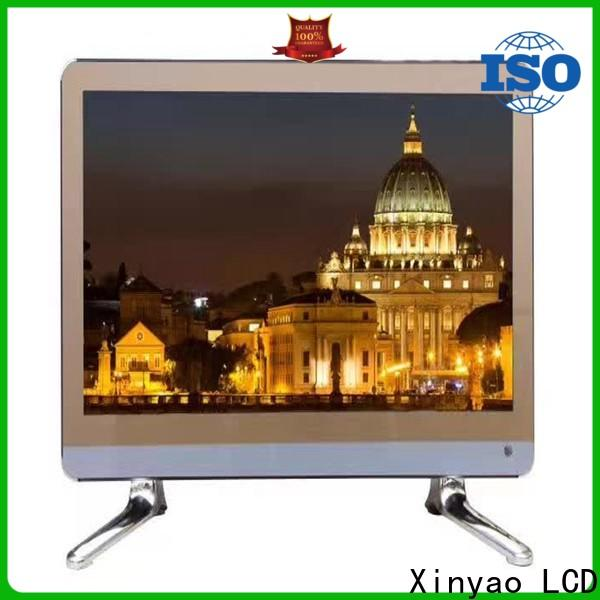 Xinyao LCD double glasses 22 led tv price with dvb-t2 for lcd screen