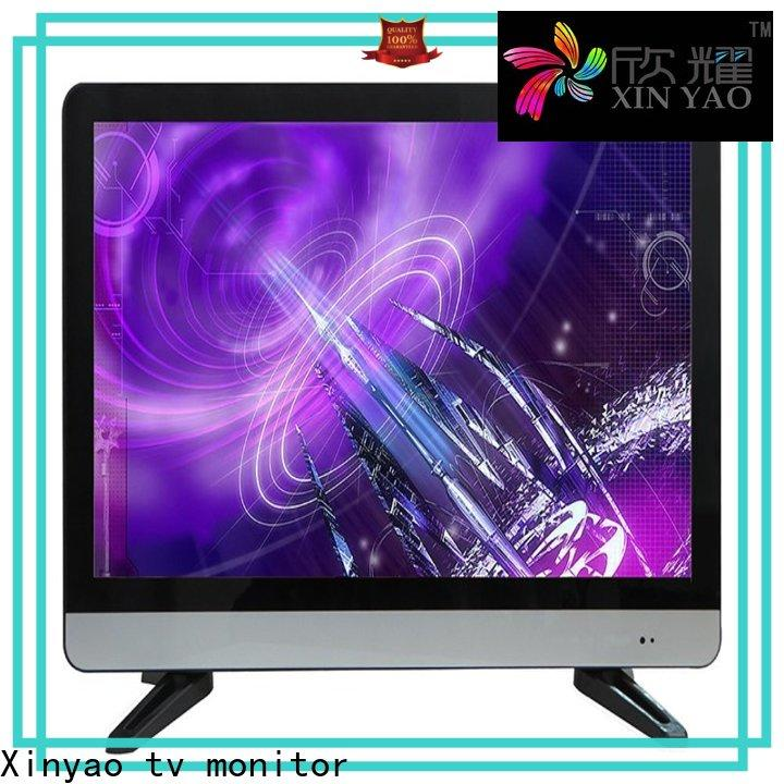 double glasses 22 led tv price with v56 motherboard for lcd tv screen