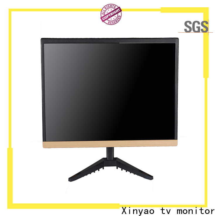 Xinyao LCD slim body 24 inch led monitor manufacturer for tv screen