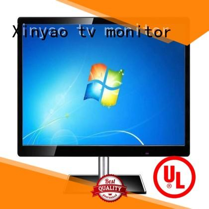 Cheap price black color AC 220V DC 12V DVI USB output lcd monitor 27