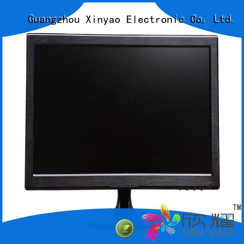 Xinyao LCD ips screen 19 inch computer monitor front speaker for tv screen
