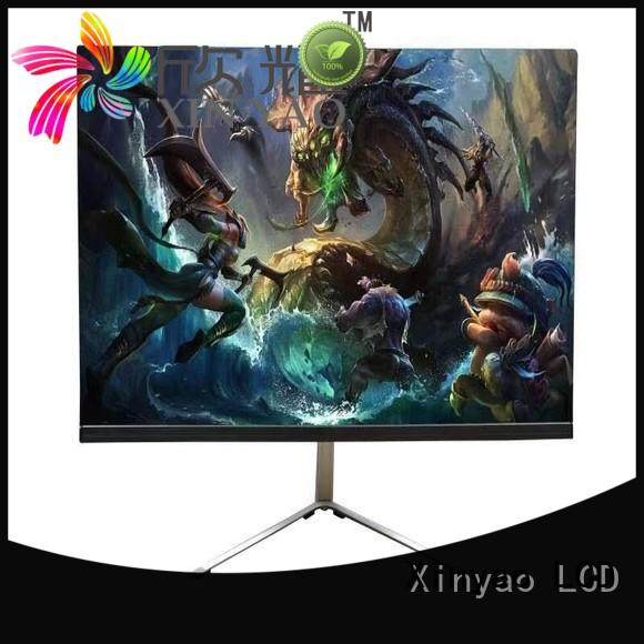 Xinyao LCD slim boarder 21.5 inch led monitor modern design for lcd tv screen