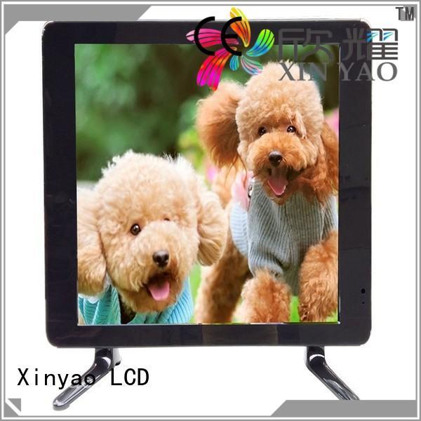 Xinyao LCD Brand 1080p 12v av custom 17 inch hd tv