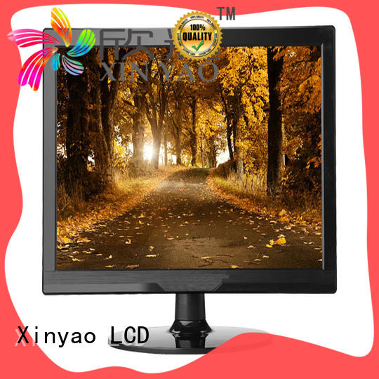 Xinyao LCD 15 inch computer monitor with speaker for lcd screen