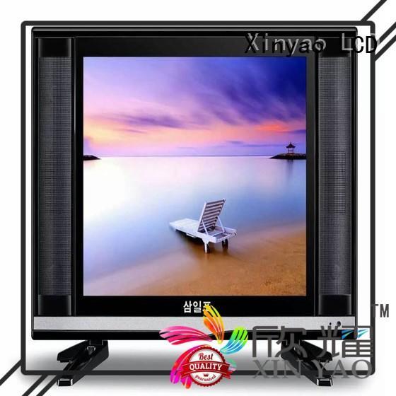 Xinyao LCD 17 inch flat screen tv fashion design for lcd screen