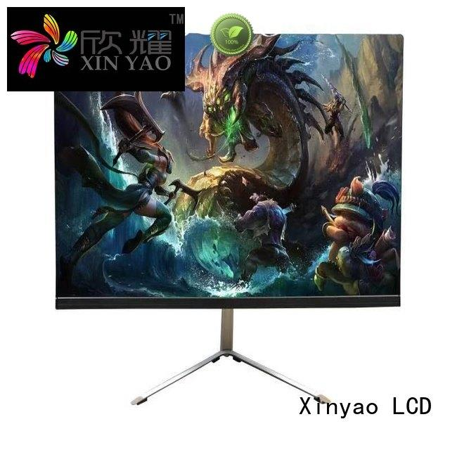 Xinyao LCD slim boarder 21.5 inch monitor modern design for lcd screen