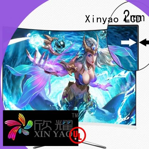 Xinyao LCD latest 24 inch lcd monitor bulk production for tv screen
