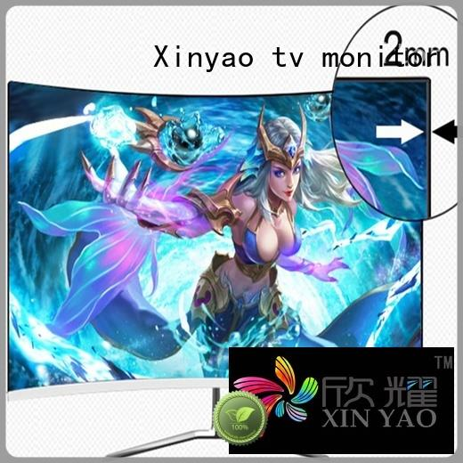 Xinyao LCD slim body 24 inch hd monitor oem service for tv screen
