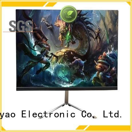 curve screen 21.5 inch monitor modern design for tv screen
