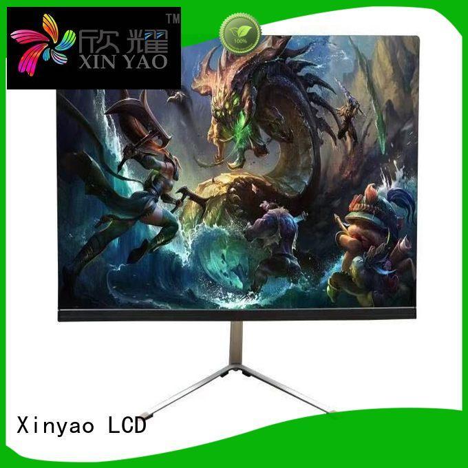 Xinyao LCD slim boarder 21.5 led monitor modern design for tv screen