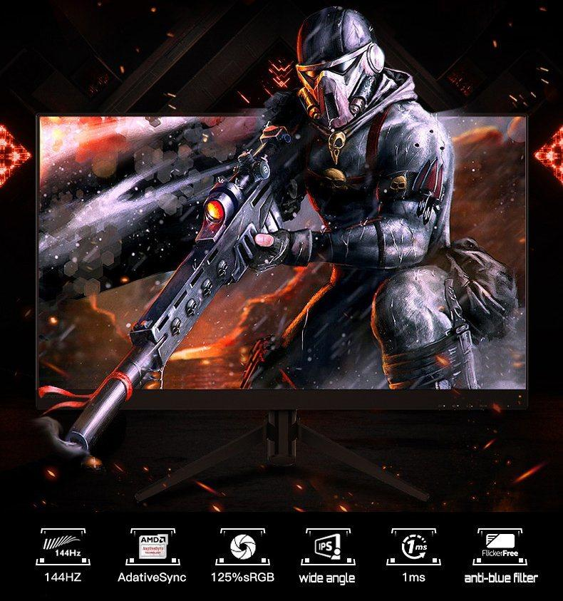 Xinyao LCD factory direct gaming moniters bulk supply new design-3