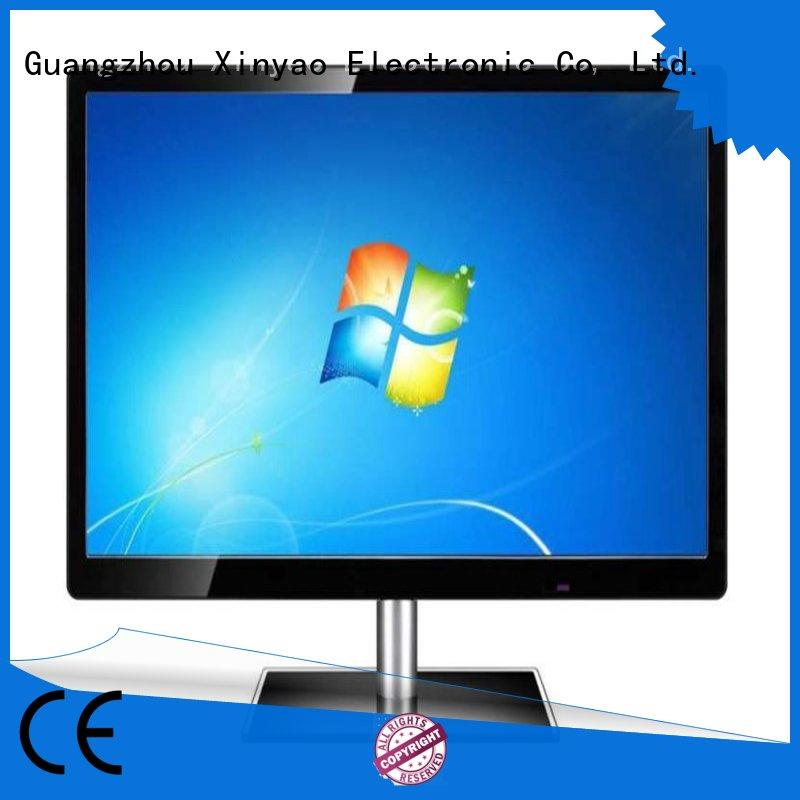 Xinyao LCD usb output 27 inch led monitor factory price for tv screen