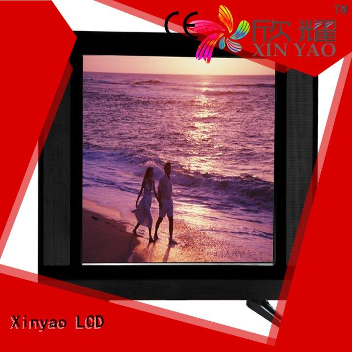 Xinyao LCD Brand televisions panel custom 15 inch lcd tv monitor